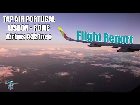 FLIGHT REPORT   TAP AIR PORTUGAL   LISBON-ROME