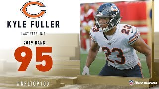 #95: Kyle Fuller (CB, Bears) | Top 100 Players of 2019 | NFL