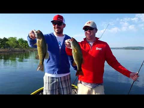 Table Rock Lake Video Fishing Report May 14, 2018