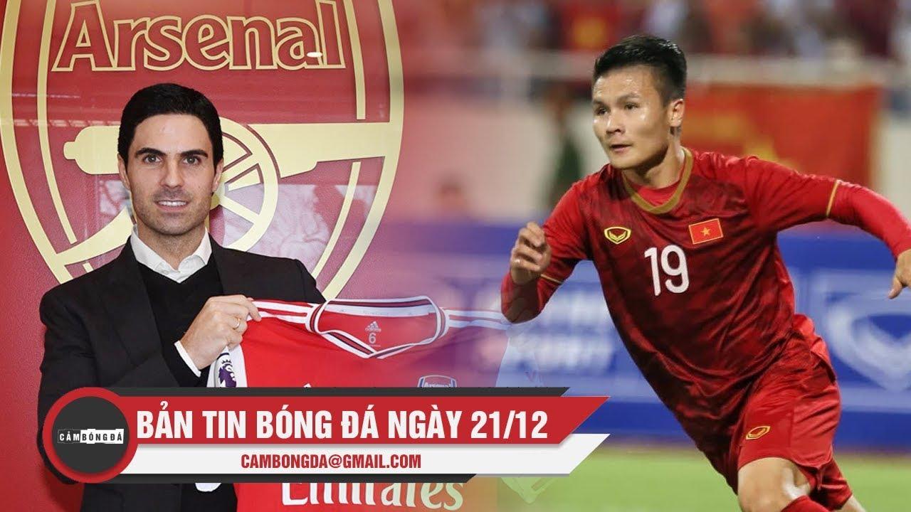 Bản tin Cảm Bóng Đá ngày 21/12   Arsenal chính thức có Arteta, U23 Việt Nam đón Quang Hải trở lại