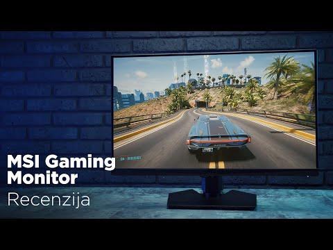 MSI Optix MAG274R2 gaming monitor recenzija