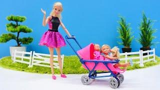 As melhores histórias da Barbie e Chelsea! Novelinha da boneca Barbie em português