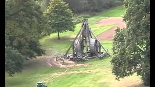 World record trebuchet at Warwick Castle