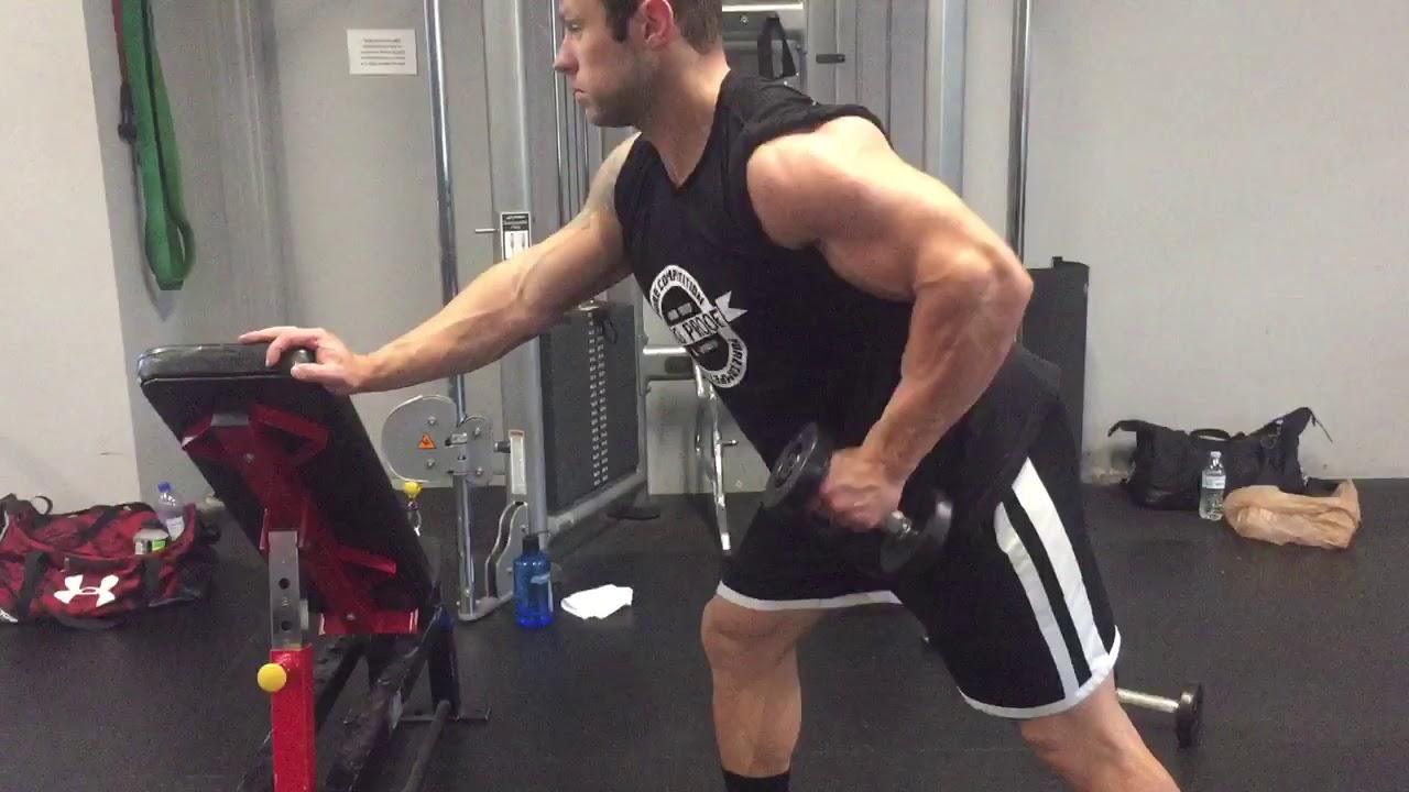 One Arm Bent Over Row