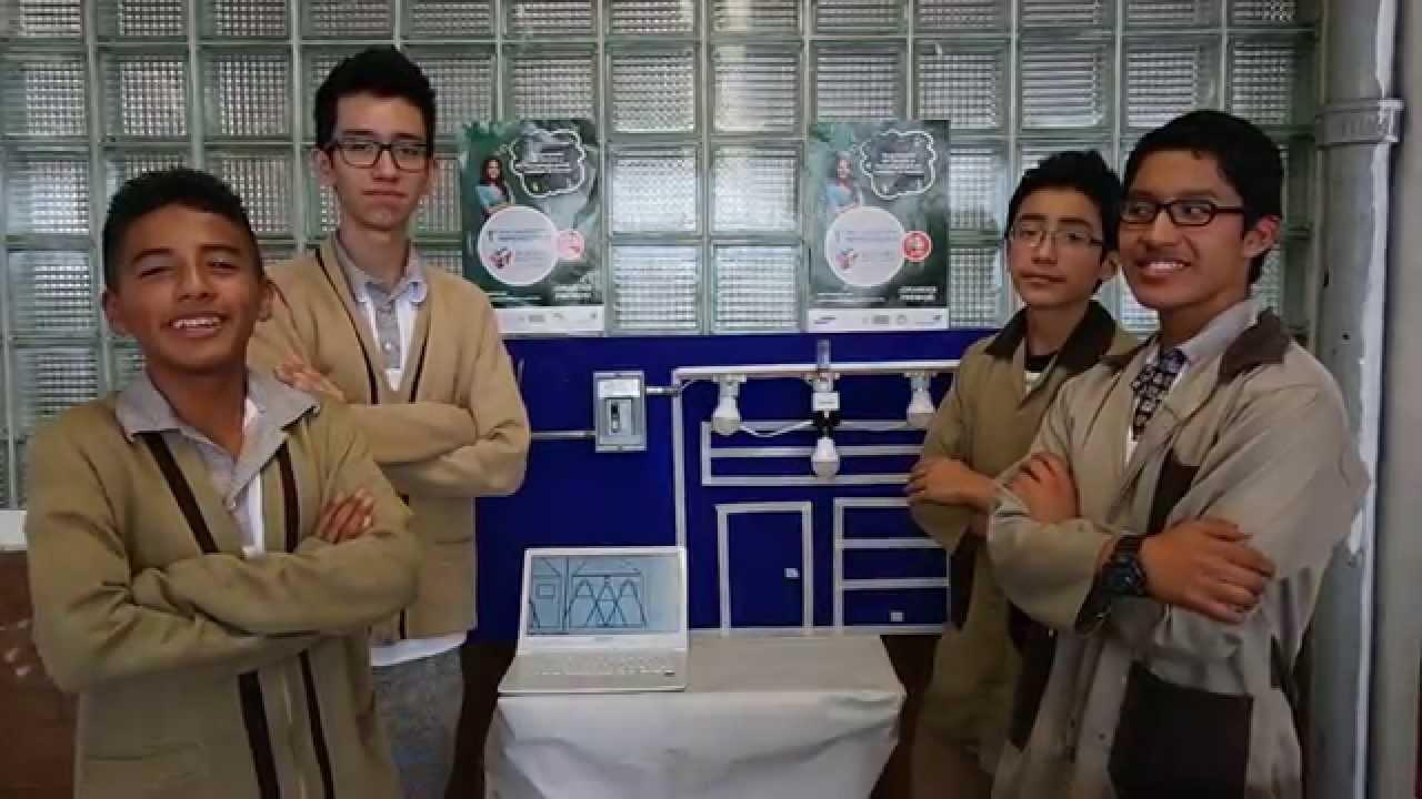 """proyecto """"sistema de iluminación automática eficiente para el"""