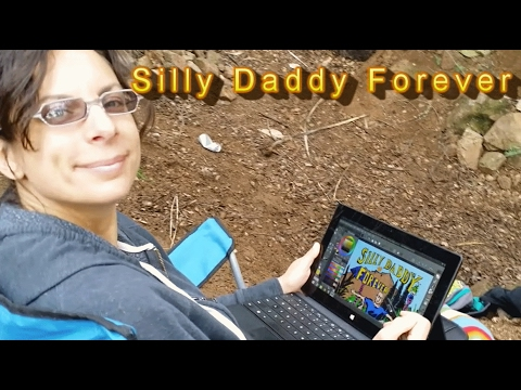 Silly Daddy Forever Comic Book in Production