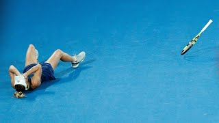 Caroline Wozniacki beats Simona Halep in the Australian Open final to win her first grand slam title. She becomes the first Danish grand slam winner and ...