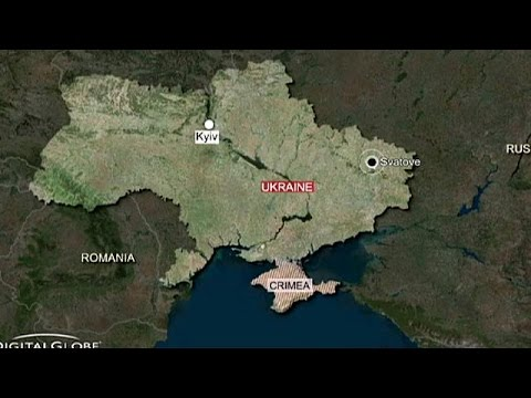 Ukraine ammunition depot