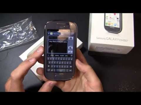 Samsung Galaxy Exhibit Unboxing