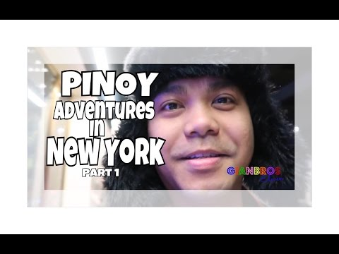 PINOY ADVENTURES IN NEW YORK | PART 1