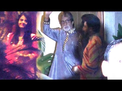 INSIDE Video Of Amitabh Bachchan's 74th Birthday Party 2016 With Aishwarya Rai & Abhishekh