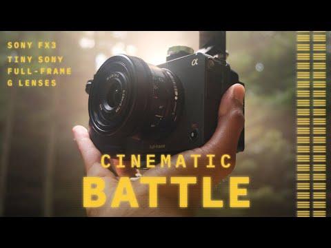 Cinematic B-ROLL BATTLE - Sony FX3 & G Lenses