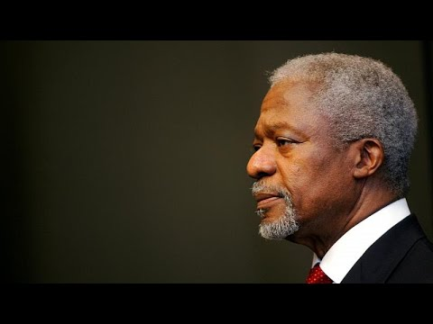 Kofi Annan, un