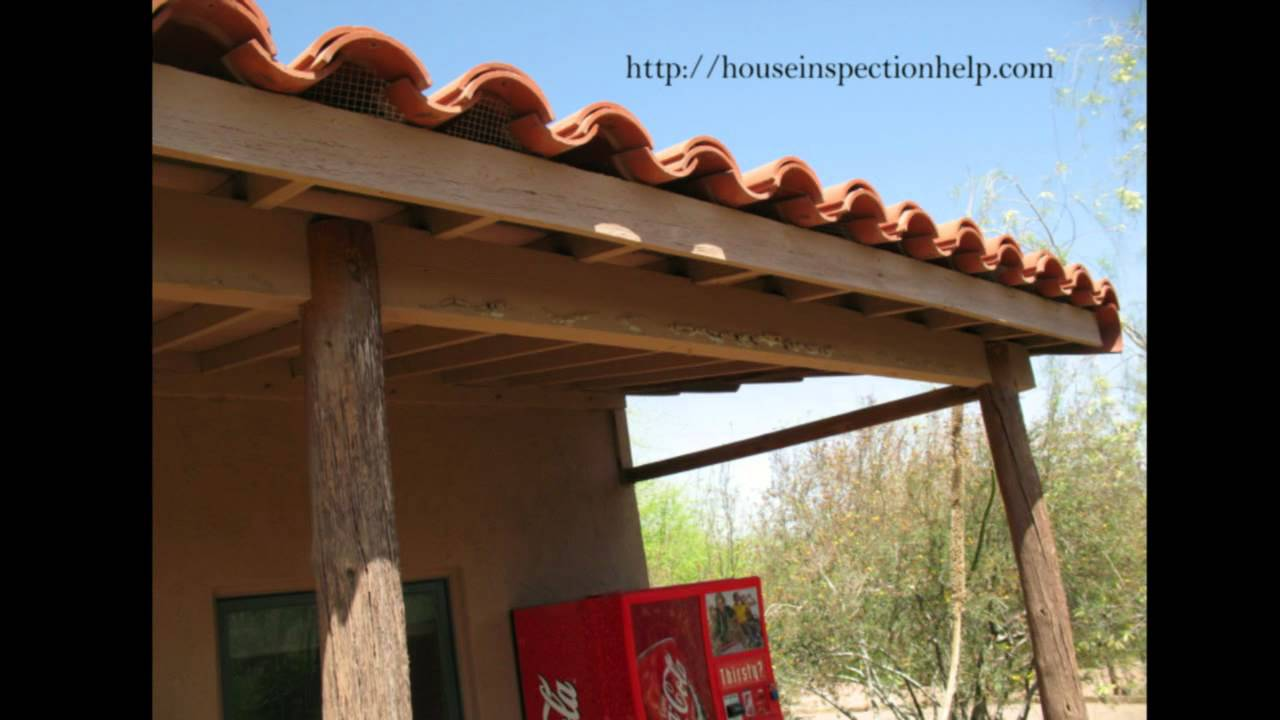 Clay Roof Tile Screens At Roof Edge Pest Control And