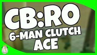 Roblox CB:RO - 6-Man Clutch Ace!