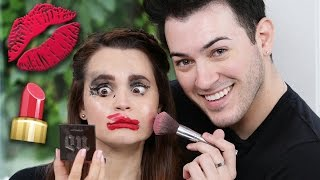 NOT MY ARMS MAKEUP CHALLENGE! by : Rosanna Pansino