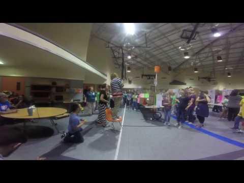 Vidor Middle School sci fair winners