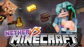 This Was SO LUCKY! - Nether VS - Minecraft 1.16 Challenge Series - Ep.2