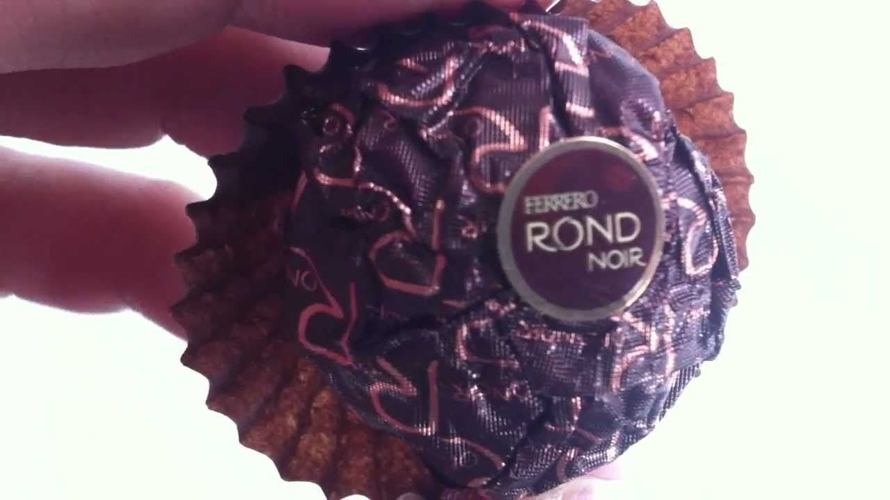 Ferrero Rond Noir Review Youtube