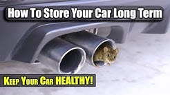 How To Store Your Car Long Term