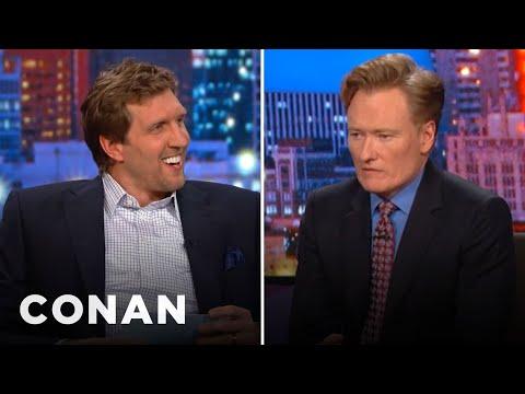 Dirk Nowitzki Gives Conan The Texas Citizenship Test - YouTube