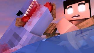 Minecraft: ATAQUE DO TUBARÃO #01 (O SONHO) - JAWS ATTACK !