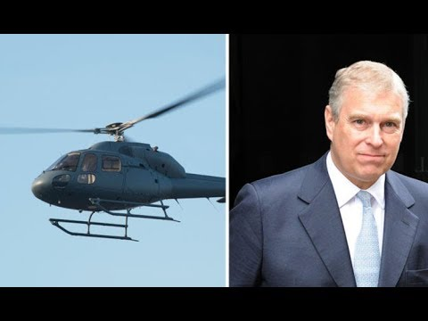 Air Miles Andy strikes again! Prince Andrew enjoys £5,000 taxpayer-funded helicopter ride - Daily Ne