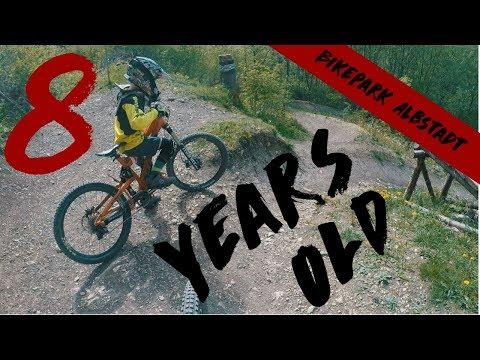 Downhill Youngster | 8 Yars Old | Bikepark Albstadt | Jonas Heidl