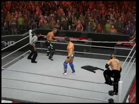 WWE SVR 2011 - Sweet Chin Music Into Senton!