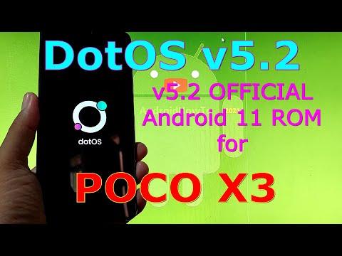 DotOS v5.2 OFFICIAL for Poco X3 NFC (Surya) Android 11