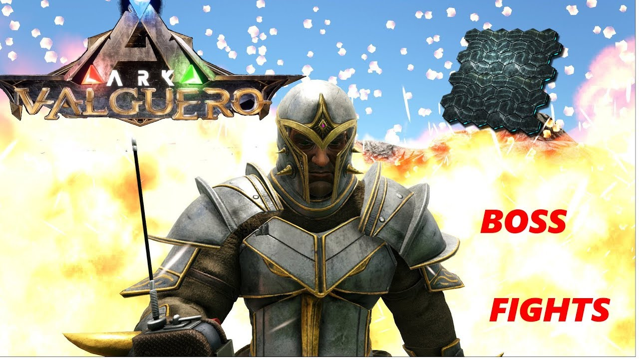ARK - Valguero NEW ARMOR!! BOSS FIGHTS, AND TONS OF *ELEMENT*