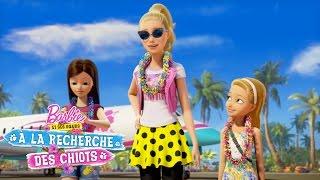 Bienvenue sur l'Île ! | Barbie™ et Ses Sœurs à la Recherche des Chiots | Barbie
