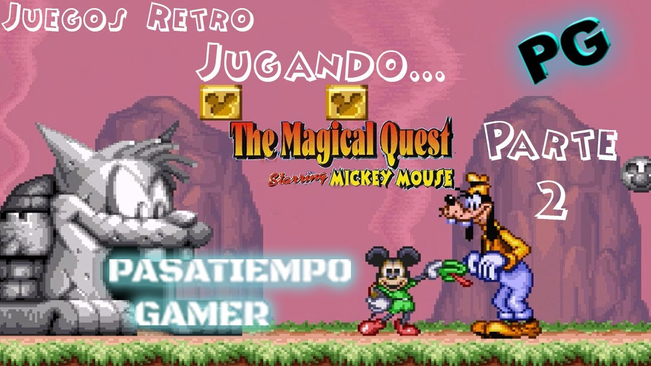 the magical quest mickey mouse snes parte 2  youtube