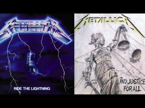 If And Justice For All  was on Ride the Lightning  EQd