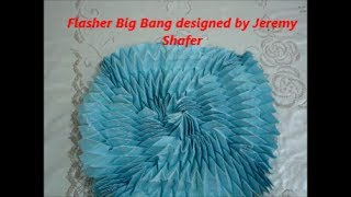 Origami Flasher Big Bang designed by Jeremy Shafer (Not a Tutorial) Thumbnail