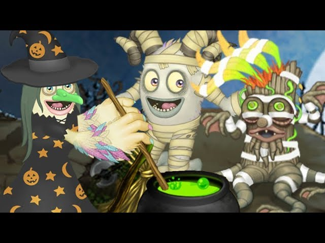 My Singing Monsters All Halloween Costumes 2019 Youtube