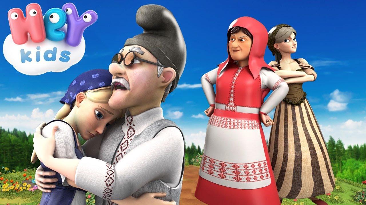 Fata Babei si Fata Mosului - Poveste pentru copii | HeyKids - Desene animate