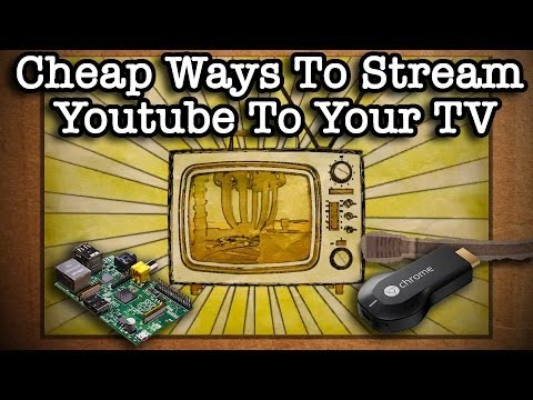 Cheap Ways To Wirelessly Stream  To Your TV