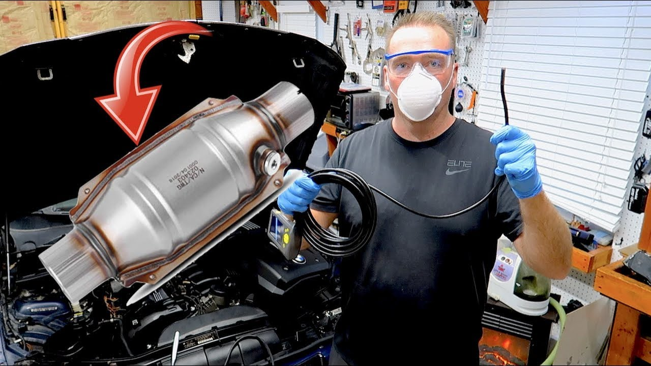 Easiest Catalytic Converter Cleaning And Inspection Youtube