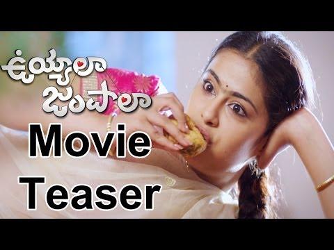 Uyyala Jampala Movie Teaser  || Raj Tarun,Anandi