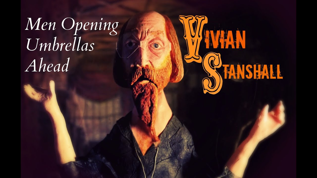 Vivian Stanshall Men Opening Umbrellas Ahead Official