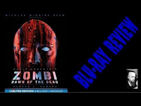 ZOMBI - DAWN OF THE DEAD (ITALIAN BLU-RAY BOX SET REVIEW) GEORGE A. ROMERO