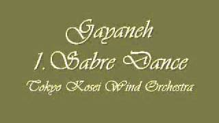 Download Gayaneh 1.Sabre Dance. Tokyo Kosei Wind Orchestra. MP3 song and Music Video