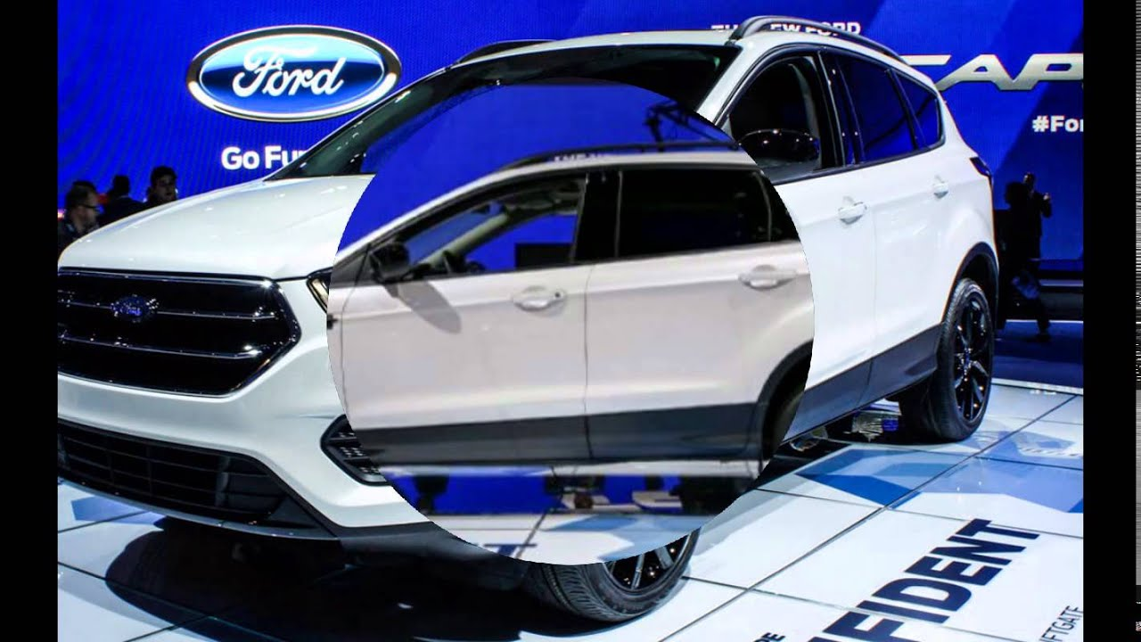 ford new car release2017 Ford Escape Sport  SUV Car New Model Release  YouTube
