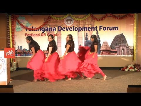 Telangana Formation Day - Dhoom Dham Event | TDF Portland Chapter Oregon | YOYO TV Channel