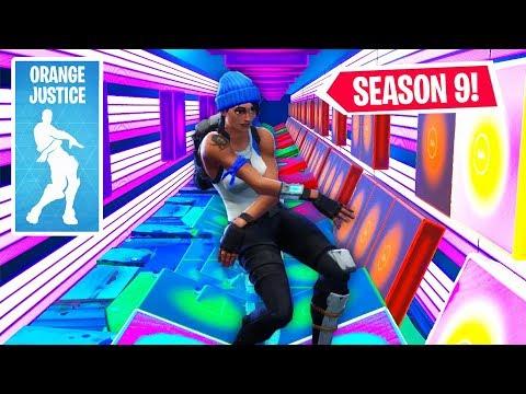 Fortnite Season 9 Emote Songs Recreated Using Fortnite Music Blocks (Orange Justice, Dance Off)