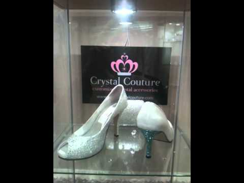 1caa4c284b2728 Wholesale Swarovski Crystal Wedding Shoes by IWantWholesale   Crystal  Couture