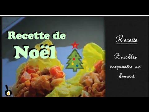 recette-de-noël:-bouchées-croquantes-au-homard