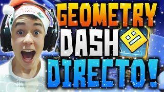 Geometry Dash EN DIRECTO!! Increíbles Niveles, Locuras y Muchas Risas...! | TheGrefg