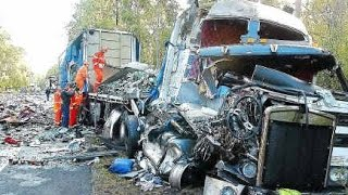 HEAVY EQUIPMENT DISASTER, FATAL TRUCK CRASH/ACCIDENTS #1